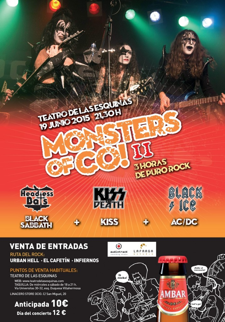 Cartel festival mosters of co_ambar