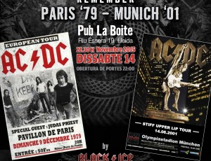 Sábado 14-nov La Boite, Lleida. REMEMBER AC/DC.