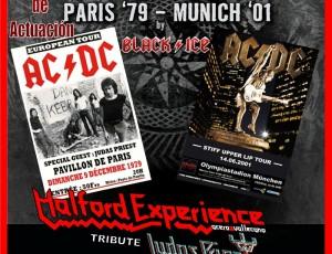 Sábado 19-dic. REMEMBER AC/DC en el Sanse Boulevard, S.S de los Reyes. Madrid.
