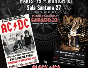 Sábado 23-ene. REMEMBER AC/DC en la Sala Santana 27, Bilbao.