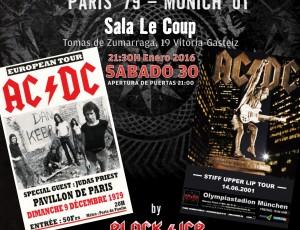 Sábado 30-ene. REMEMBER AC/DC en la Sala Le Coup, Vitoria-Gasteiz.