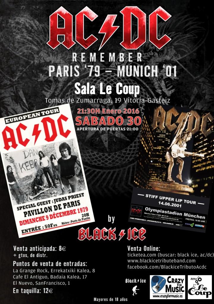 S Bado 30 Ene Remember Ac Dc En La Sala Le Coup Vitoria