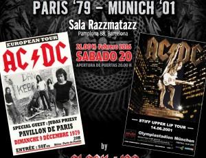 Sábado 20-feb. REMEMBER AC/DC en la Sala Razzmatazz, Barcelona.